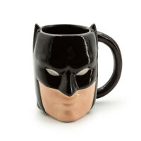 20oz 3D Batman or Wonder Woman Coffee Mug DC Comics Classic Superhero