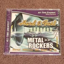 Hard & Fast All Time Greatest Metal Rockers by Various Artists (CD, Music) New