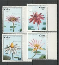 L0059 1979 KYBA FLORA NATURE PLANTS SEA FLOWERS SET MNH