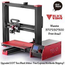 TEVO 2017 BLACK WIDOW 3D PRINTER DIY KIT+BL TOUCH SENSOR-HUGE 370x250x300 BED!!!