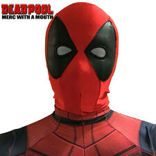 Unisex Deadpool Cosplay Mask Headwear Halloween Cosplay Props Mask US Shipped