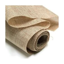 "Hessian Fabric 10oz Jute Burlap Upholstery, Craft 40"" or 60"" Wedding Decoration"