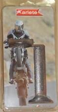Custom Chopper Bobber Hot Rod Argent Metalflake Poignées Guidon Fait en Italie*