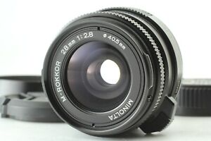 Late Model {N.MINT} MINOLTA M Rokkor 28mm f/2.8 Leica M Mount CL CLE JAPAN #1282