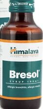 Bresol Syrup Allergy Bronchitis Allergy Rhinitis 100ml Himalaya Herbal Natural