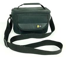 Case Logic Camera Camcorder Carrying Bag Travel with 1 Divider & Shoulder Strap