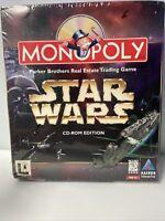 Monopoly Star Wars CD-ROM Game, Big Box, New/Sealed