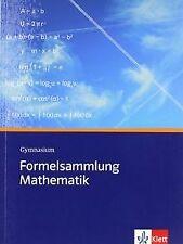 Formelsammlung Mathematik. Gymnasium: Sekundarstufe I un... | Buch | Zustand gut