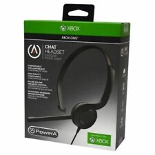 Power A Chat Headset w/ Mute Control for Microsoft Xbox One
