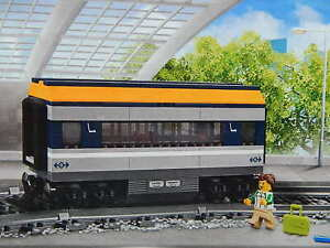 Lego City Passenger Carriage Train Railway seating car from 60197 New genuine