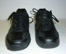 Men's Bcg Black Tennis Shoes Leather upper Size 10.5