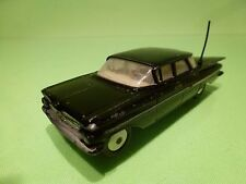 CORGI TOYS 220 CHEVROLET IMPALA - BLACK 1:43  - GOOD CONDITION