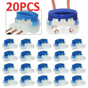 20Pcs Quick Cable Connector for Automower Robot Lawn Mower Husqvarna Kit