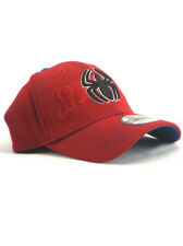 New Era Spider-Man 39thirty Fitted Hat Size Medium-Large Stretch Fit Marvel Red