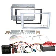 VAUXHALL ANTARA 11 2-Din Car Radio Installation Set Canbus FACEPLATE Matt Chrome