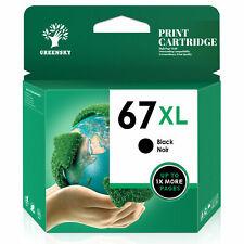 67XL High Yield Black Tri-color Ink Cartridge for HP 67 XL ENVY Deskjet Printer