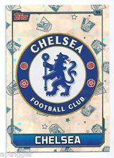 2015 / 2016 EPL Match Attax Base Card (55) CHELSEA Logo Card