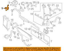 PORSCHE OEM 11-14 Cayenne 4.8L-V8 Radiator-Center Duct Seal Left 95811056300