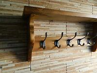 Wooden Style Coat Hook Rack With Shelf Cast Iron Coat Hook Antique