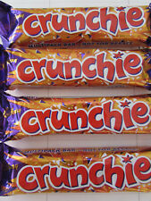 Cadbury 'CRUNCHIE BARS' 4 x 32g bars. Made in UK