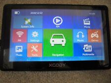 """XCODY 718 7"""" GPS NAVIGATION SATNAV 8GB"""