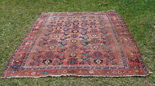 VERY RARE ANTIQUE AFSHAR , AFSHARI TRIBAL PILE RUG 1900 BEAUTIFUL VEGETABLE DYES