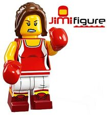 NEW LEGO Minifigures Kickboxer Series 16 71013 Genuine Kick Boxer Girl Figure