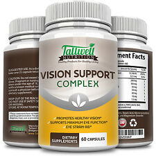 Vision Support Vitamins for Eye Health Lutein, Vitamin A, Taurine, Lycopene