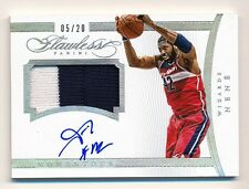2014-15 Flawless * NENE * Game Worn Patch * On Card Autograph * #5/20