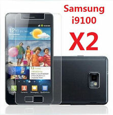 2 X Samsung i9100 Galaxy S2 2  SII LCD Screen Protector Ultra Crystal Clear Film