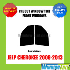 JEEP CHEROKEE 2008-2013 FRONT PRE CUT WINDOW TINT