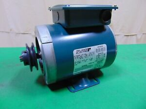 Reliance Electric Motor 1/2 HP 1725 RPM 56C C Face