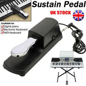 Universal Sustain Pedal Foot Damper Switch Keyboard for Yamaha Casio Korg Roland