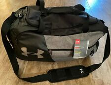 Under Armour Undeniable 4.0 Black & Gray Gym Bag Duffle-NEW with Tags