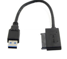 "5 Gbps Super Speed USB3.0 vers Micro SATA 7+9 16Pin 1.8"" disque dur pilote SSD Cable"