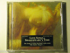 LOVE SONGS in Shakespeare's Time DOWLAND by Desmond Dupré Joseph Iadone CD 2004