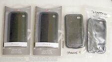 LOT OF 4 ROCKETFISH IPHONE 4 SILICON CASES - RF-WR1001