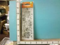 Fiskars Clear Unmounted Stamps Gifts Galore rubber stamps 22L