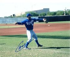CHESLOR CUTHBERT KANSAS CITY ROYALS SIGNED AUTOGRAPHED 8X10 PHOTO