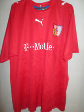 Czech Republic 2006-2008 Home Football Shirt Size xl /5389