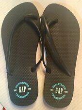 4c05d0dc2 The Gap Women s Black Flip Flops Size 11