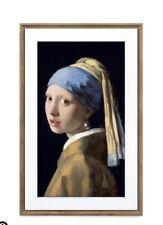 "Meural 27"" Canvas II Digital Art Frame (Dark Wood) New"