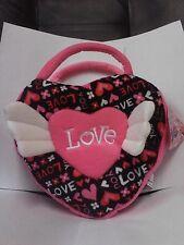 Sugar Loaf Pink Love You Heart XO Valentine's Day Plush Purse 2013 NWT!