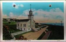 (ug6) Mackinac Island MI: Old Mission Church