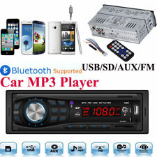 Bluetooth 12V In Dash Car Audio Radio Stereo Head Unit MP3/USB/SD/AUX/FM Palyer