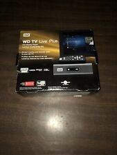 WESTERN DIGITAL WD TV LIVE PLUS HD MEDIA PLAYER WDBABX0000NBK-NESN