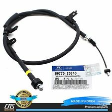 GENUINE Parking Brake Cable Rear Right for 2004 Hyundai Elantra 2.0L 59770-2D340