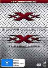 2 Movie Pack: xXx / xXx: The Next Level (15th Anniversary) NEW R4 DVD
