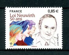 France 2017 MNH Neuwirth Law 50 Years 1v Set History Politics Stamps