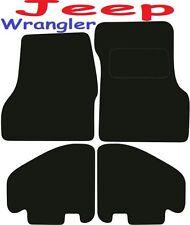 JEEP Wrangler Deluxe qualità Tappetini su misura 1997 1998 1999 2000 2001 2002 2003 20